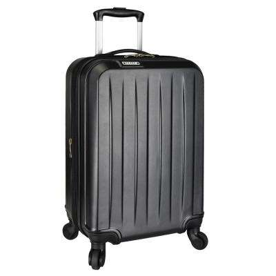 Elite Dori Expandable Carry-On Spinner Luggage, Black
