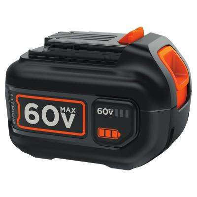 60-Volt MAX 1.5Ah Lithium-Ion Battery Pack - Charger Not Included