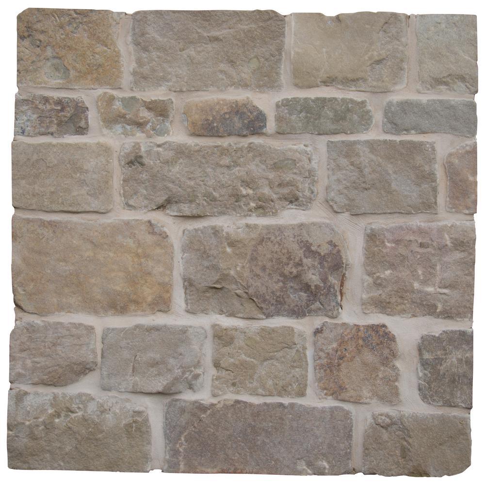 Newport Natural Limestone Wall Loose Veneer (100 sq. ft. / pallet)