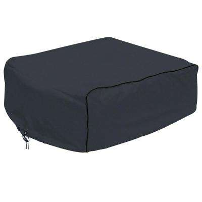 Overdrive 42.5 in. L x 29 in. W x 13 in. H RV Air Conditioner Cover Black Carrier