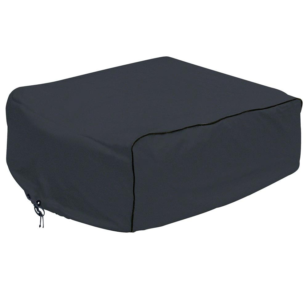 Overdrive 42.5 in. L x 29 in. W x 13 in. H RV Air Conditioner Cover Black Carrier Overdrive 42.5 in. L x 29 in. W x 13 in. H RV Air Conditioner Cover Black Carrier