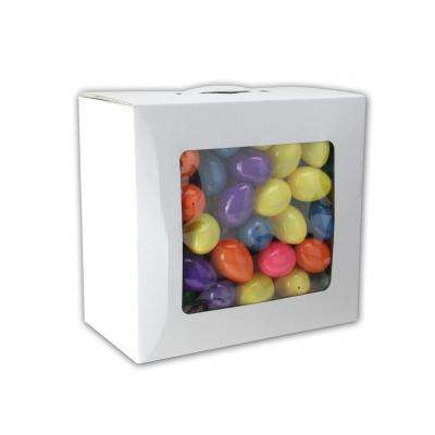 2.5 in. Assorted and Colorful Springtime Easter Egg Decorations (Pack of 150)