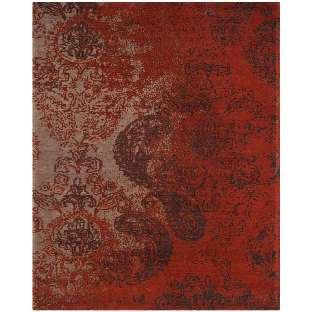 Safavieh Classic Vintage Rust Brown 8 Ft X 10 Ft Area
