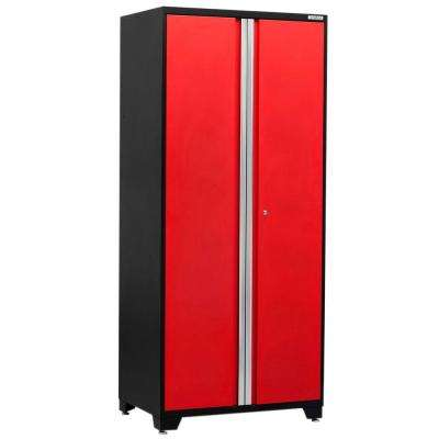 Pro 3 Series 85 in. H x 36 in. W x 24 in. D 18-Gauge Welded Steel 36 in. Multi-Use Locker in Red