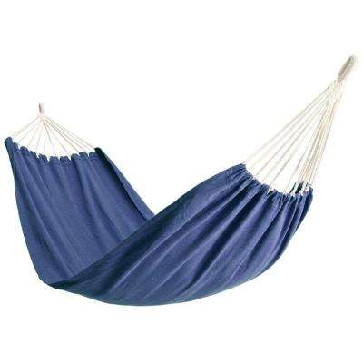 6-1/2 ft. Polyester Bag Hammock in Blue