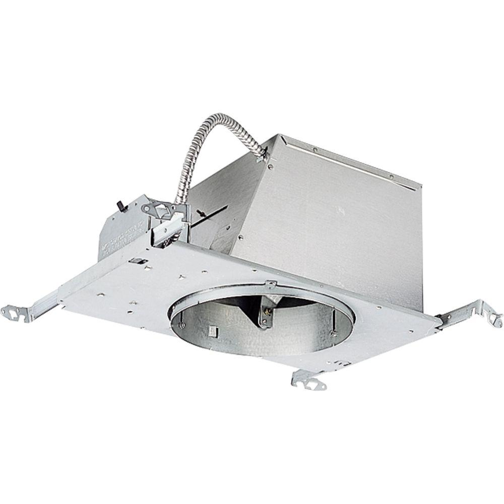 Progress Lighting 8 in. New Construction Sloped Ceiling Recessed Metallic Housing with Air-Tight, IC