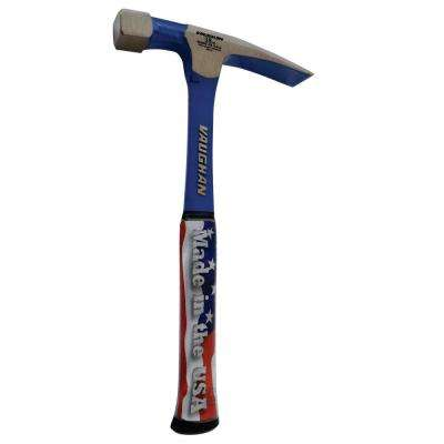 18 oz. Steel Bricklayer Hammer with 11 in. Handle