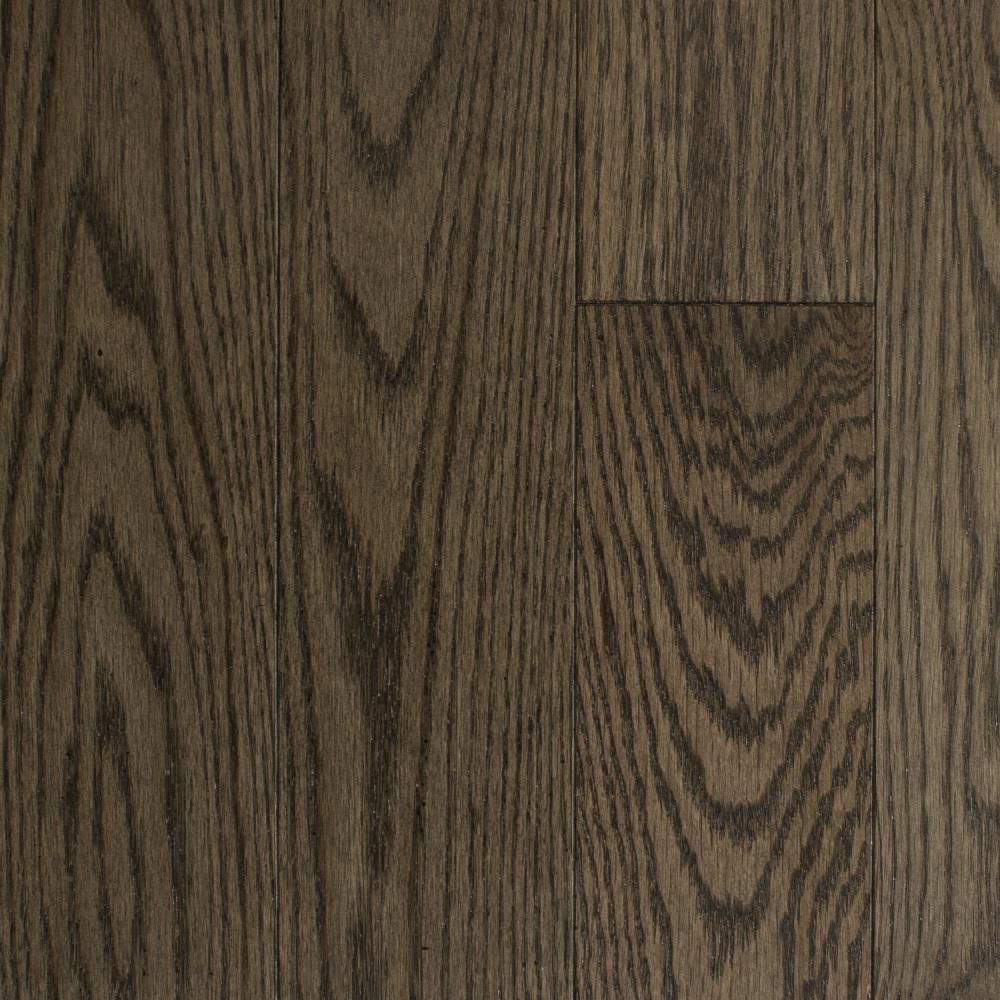 Blue Ridge Hardwood Flooring Oak Shale Solid Hardwood Flooring - 5 in. x 7 in. Take Home Sample