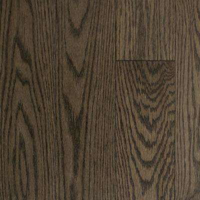 Oak Shale Solid Hardwood Flooring - 5 in. x 7 in. Take Home Sample