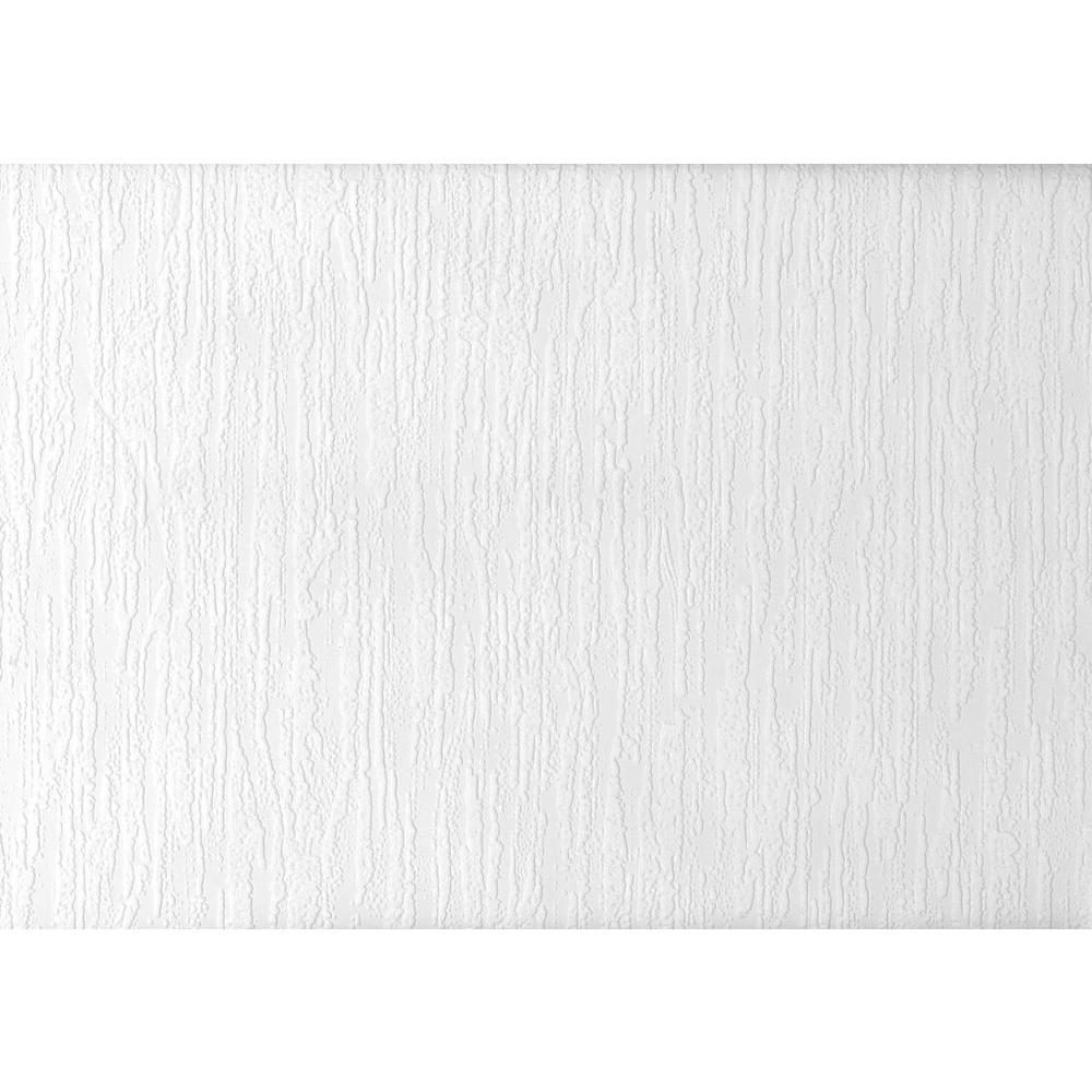 Paintable Cascade Plaster Texture Vinyl Peelable Wallpaper (Covers 56.4 sq. ft.)