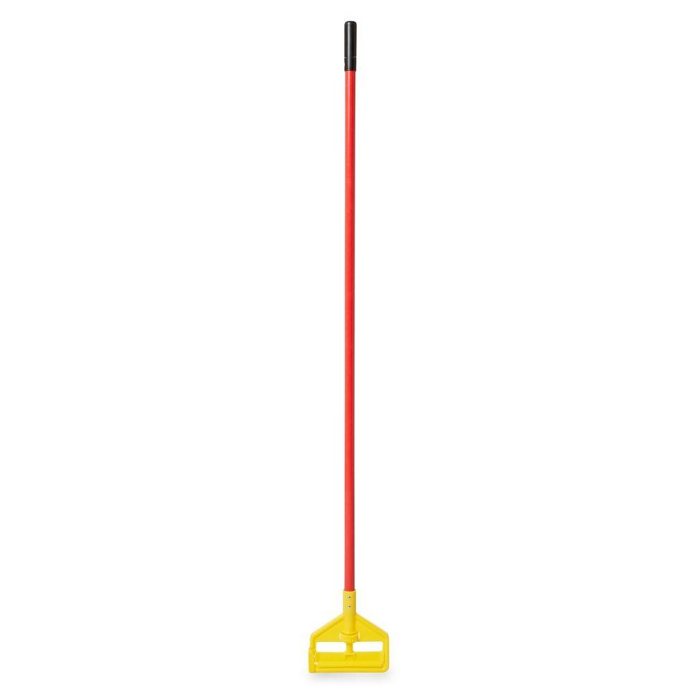 Invader 60 in. Red Side Gate Fiberglass Mop Handle