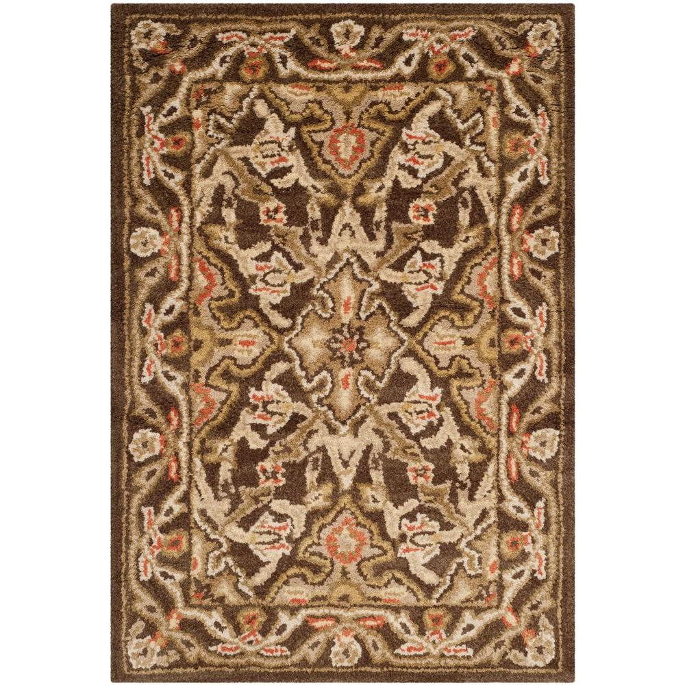 Safavieh Classic Brown 2 ft. x 3 ft. Area Rug