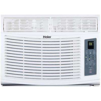 High Efficiency 8,000 BTU Window Air Conditioner with Remote