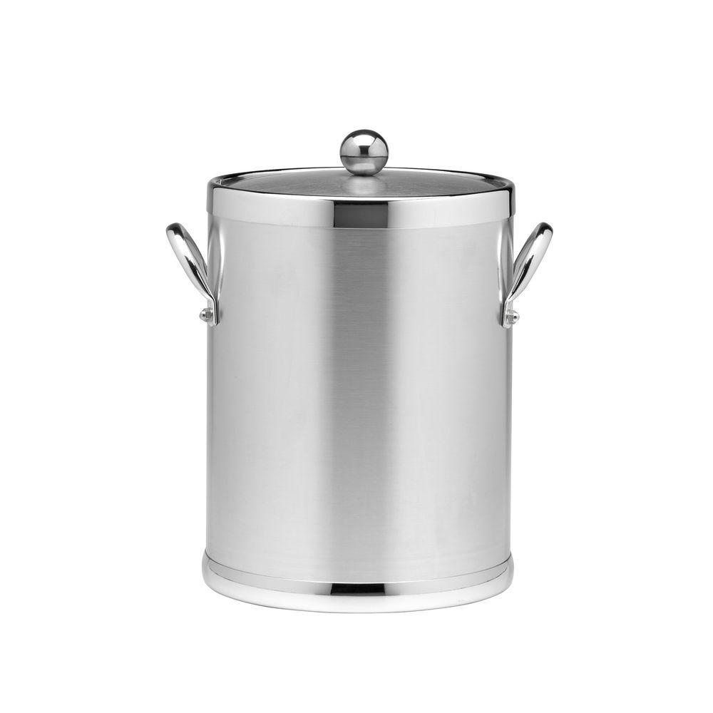 5 Quart Kraftware Grant Signature Home Ice Bucket Copper