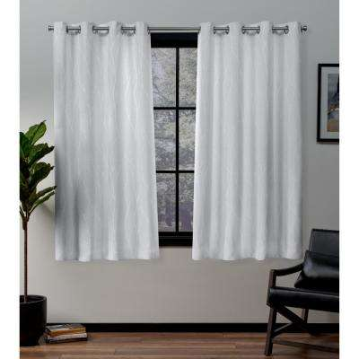 Forest Hill Winter Grommet Top Curtain Pair