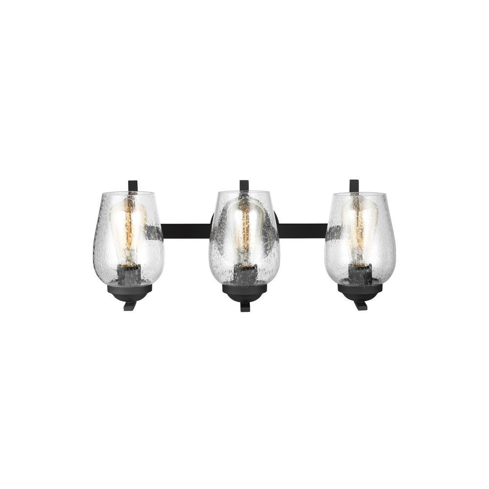 Morill 3-Light Blacksmith Vanity Light