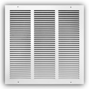Everbilt 12 In X 12 In White Return Air Grille E170