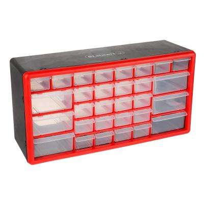 30-Compartment Small Parts Organizer