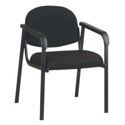 Black Visitor Office Chair