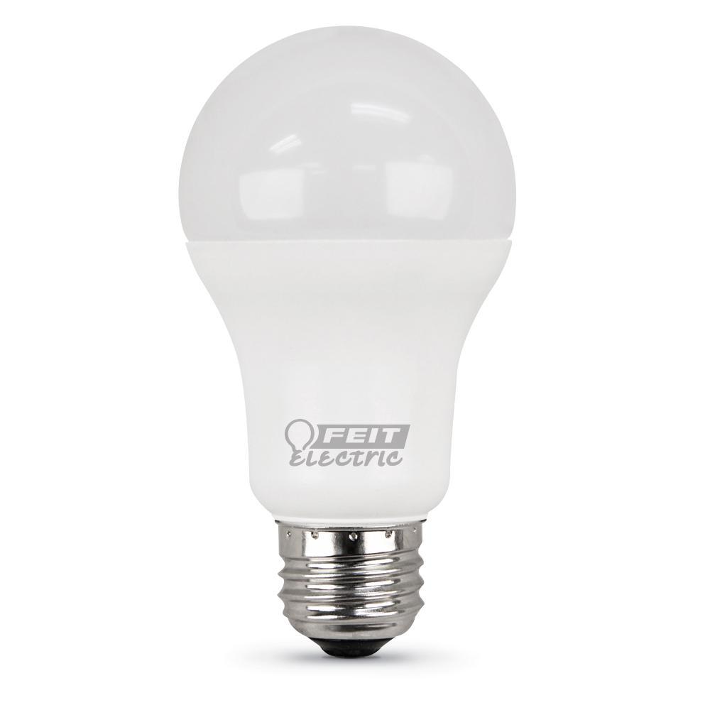 Feit Electric 100-Watt Equivalent Daylight A19 LED Medium Base Light Bulb (Case of 12)