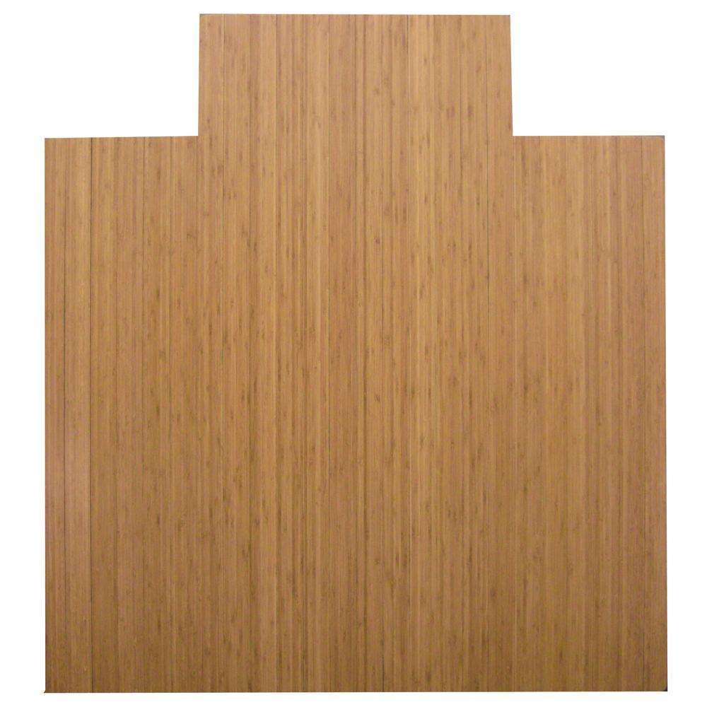 Standard 5 mm Natural Light Brown 55 in. x 57 in.