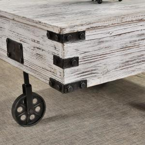 Firstime Co Somerset Factory Cart Coffee Table 70113