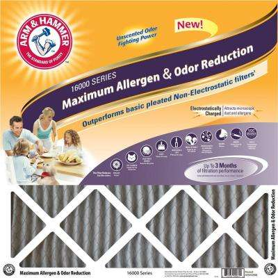 14 in. x 30 in. x 1 in. Maximum Allergen and Odor Reduction FPR 7 Air Filter (4-Pack)