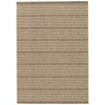 Marzipan 8 ft. x 10 ft. Geometric Indoor/Outdoor Area Rug