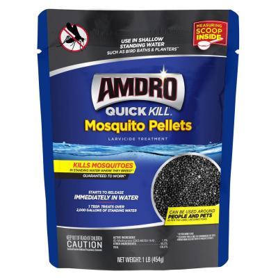 1 lb. Larvicide Treatment Quick Kill Mosquito Pellets