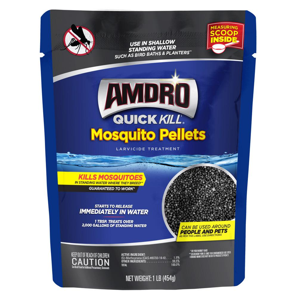 AMDRO 1 lb. Larvicide Treatment Quick Kill Mosquito Pellets