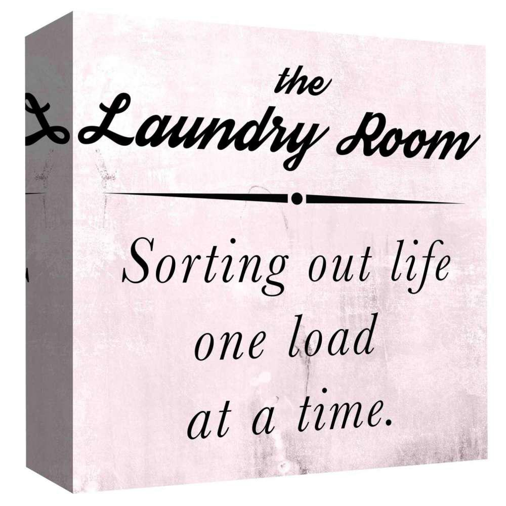 15 in  x 15 in  ''The Laundry Room'' By PTM Images Printed Canvas Wall Art