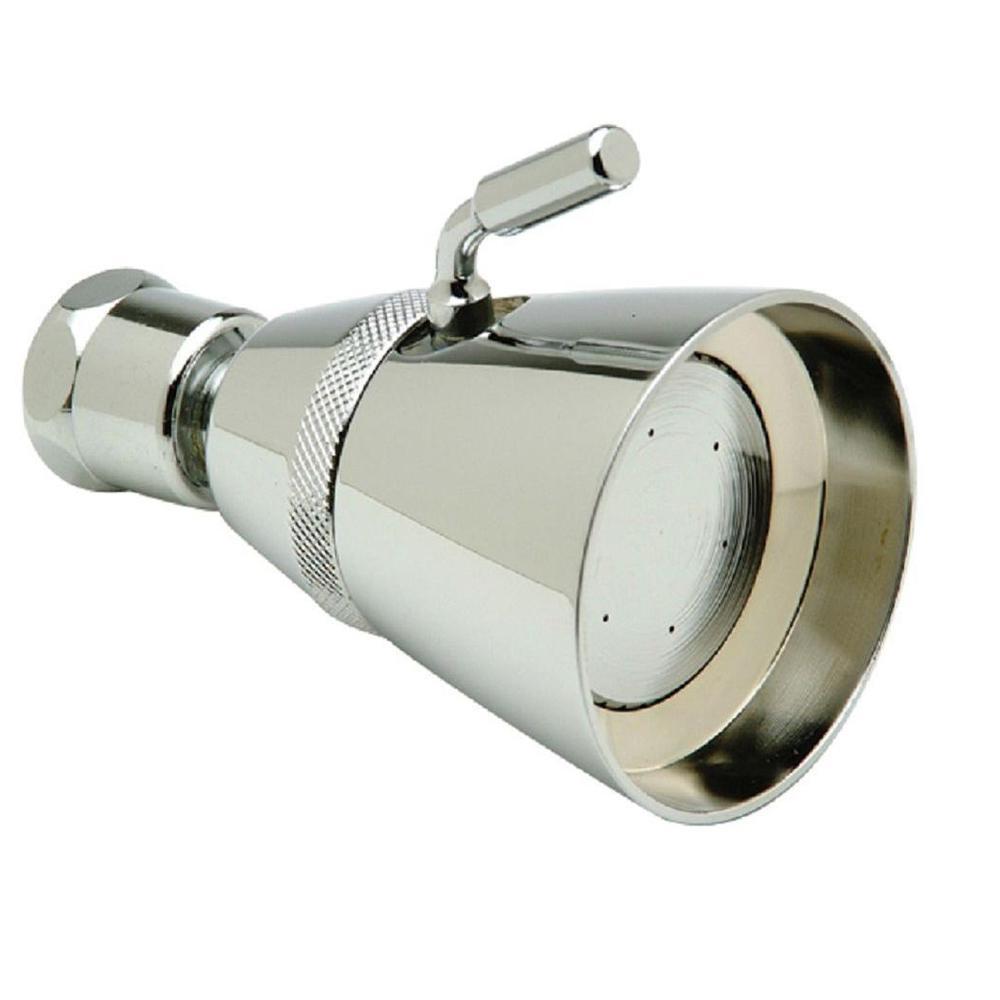 1-Spray 1.75 in. Adjustable Showerhead in Chrome