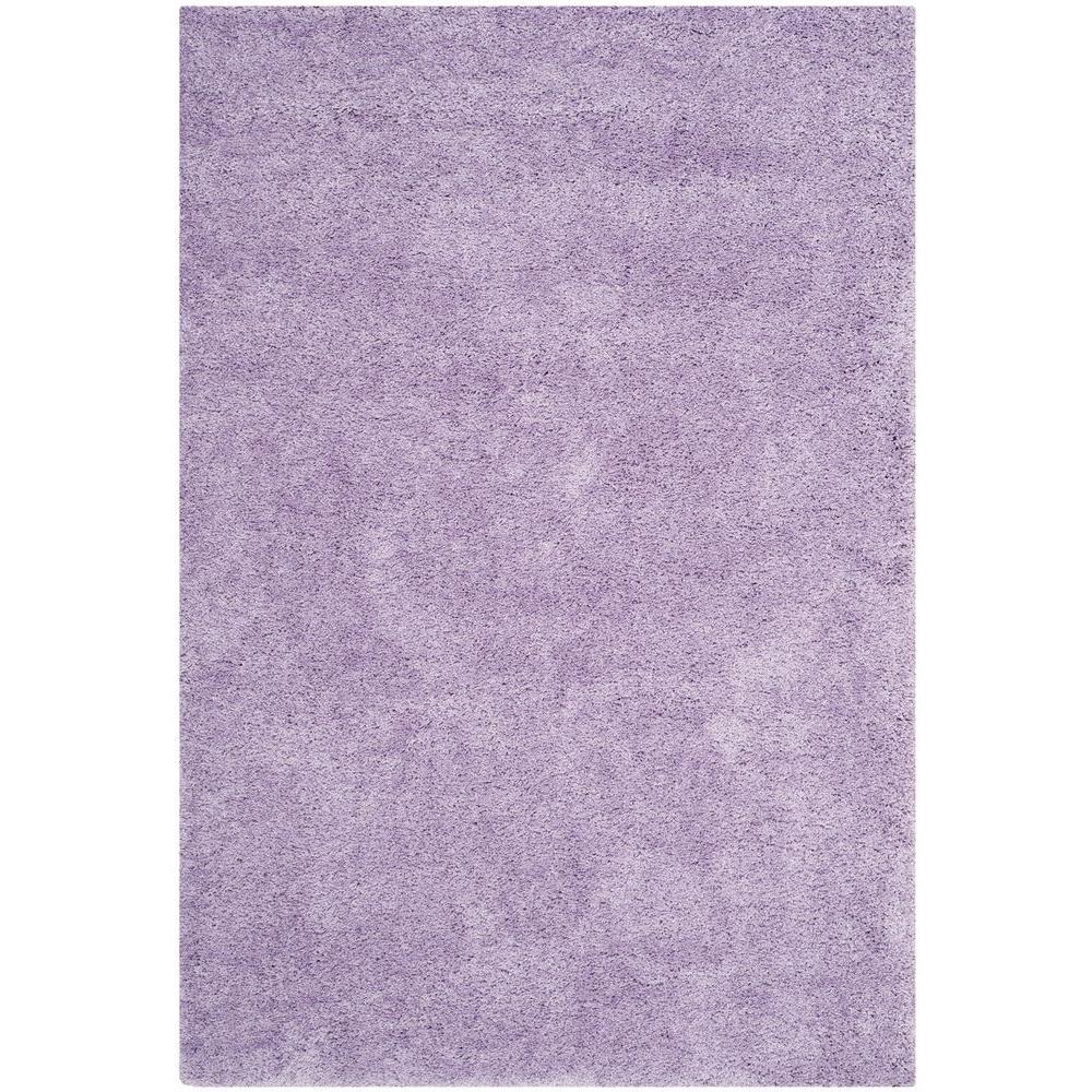 Safavieh California Shag Lilac 4 Ft. X 6 Ft. Area Rug