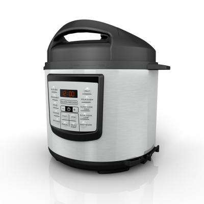 6 Qt. Stainless Steel Digital Pressure Cooker with Serving Spoon