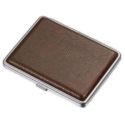 Jack Brown Leather Cigarette Case