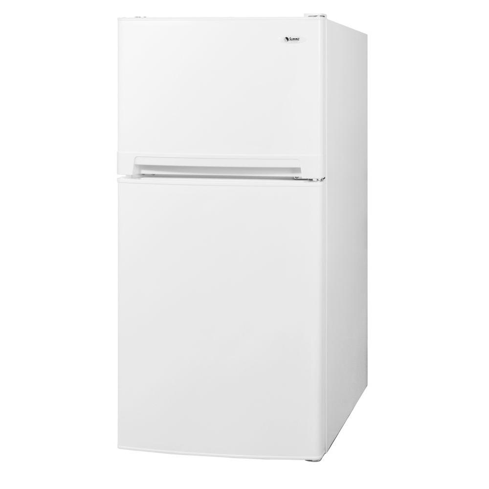 Summit Appliance 10 cu. ft. Top Freezer Refrigerator in White