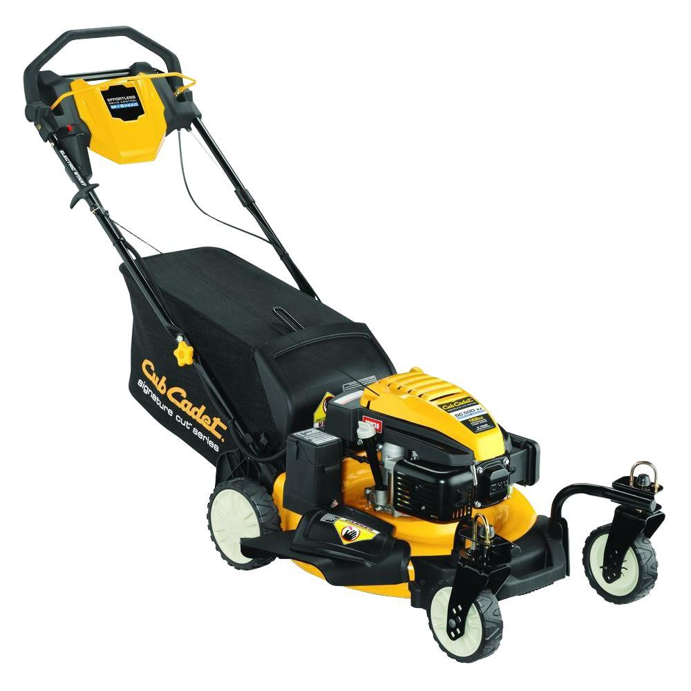 Cub Cadet SC500EZ 21 in. 159 cc 3-in-1 RWD Self-Propelled Push Button Electric Start Gas Lawn Mower