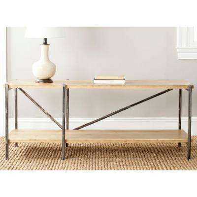 Theodore Natural Console Table