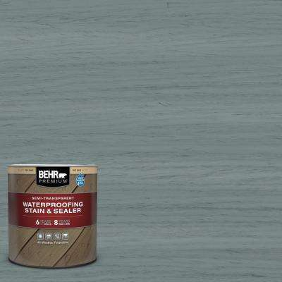 1 qt. #ST-125 Stonehedge Semi-Transparent Waterproofing Exterior Wood Stain and Sealer
