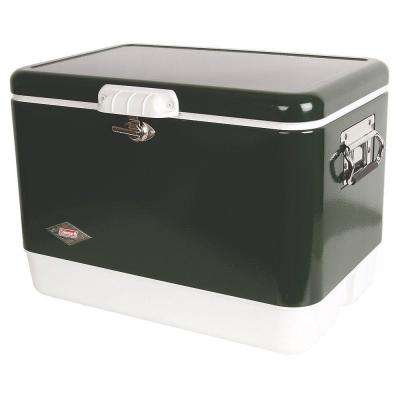 54 Qt. Green Steel Cooler