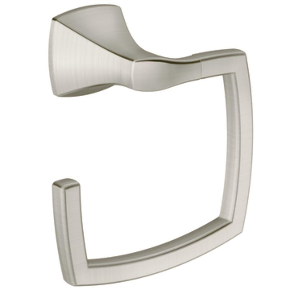 Delicieux MOEN Voss Towel Ring In Brushed Nickel