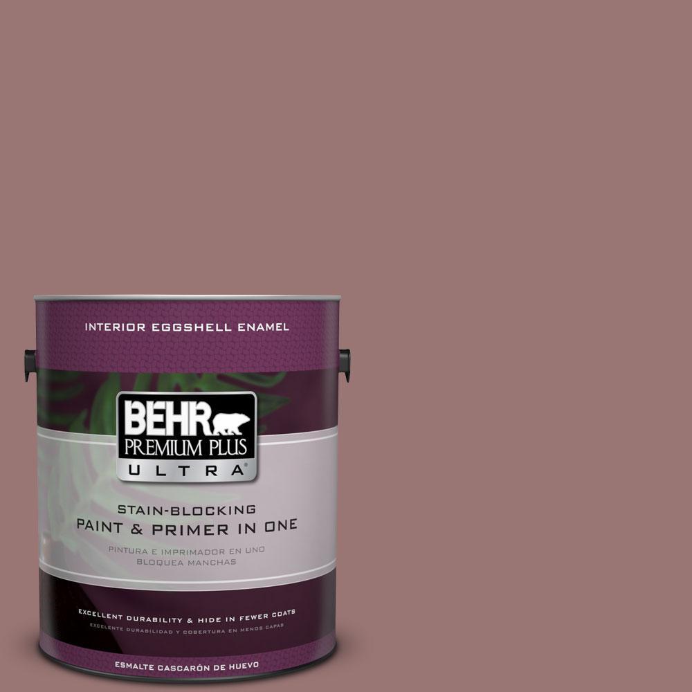 BEHR Premium Plus Ultra 1-gal. #120F-5 Hickory Stick Eggshell Enamel Interior Paint