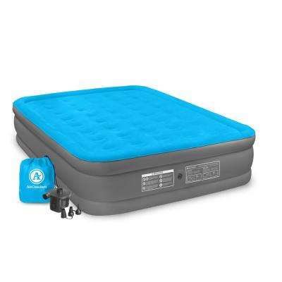 Camp Mate Queen Size Raised Air Mattress