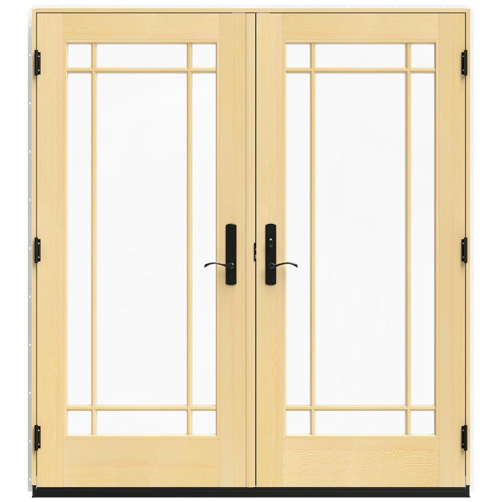 Jeld wen in x 79 5 in w 4500 brilliant white left for Door 31 5 x 79
