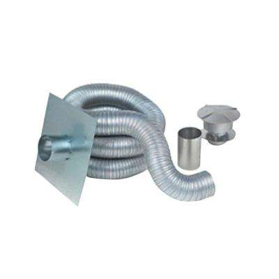 6 in. X 35 ft. Gas Aluminum Chimney Liner Kit