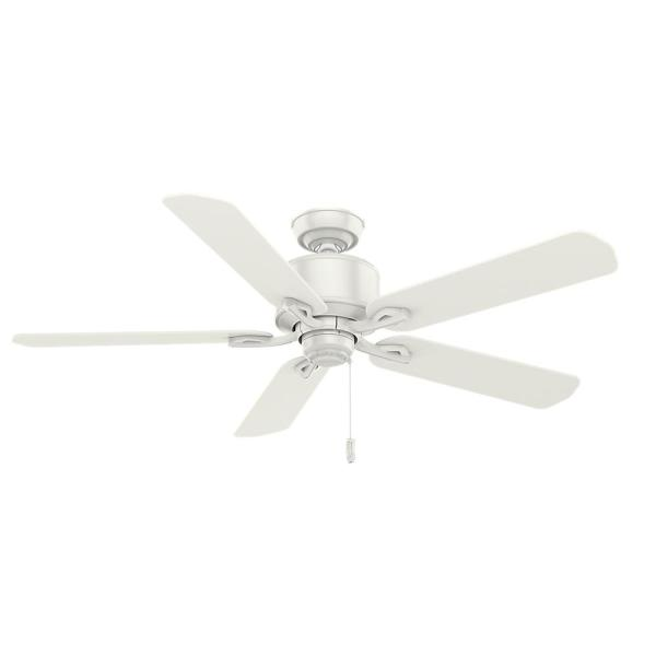 Compass Point 54 in. Indoor Fresh White Ceiling Fan