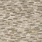 Colorado Canyon Pencil Ledger Panel 6 in. x 24 in. Marble Wall Tile (10 cases / 80 sq. ft. / pallet)