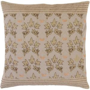 Artistic Weavers LeavesI 18 inch x 18 inch Decorative Down Pillow by Artistic Weavers