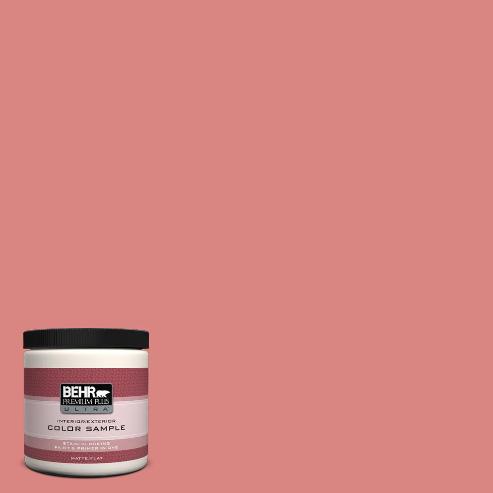 8 oz. #M160-5 Pink Damask Interior/Exterior Paint Sample