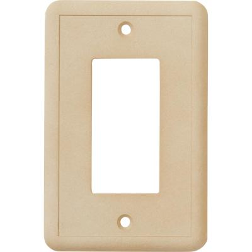 1-GFCI Wall Plate, Travertine